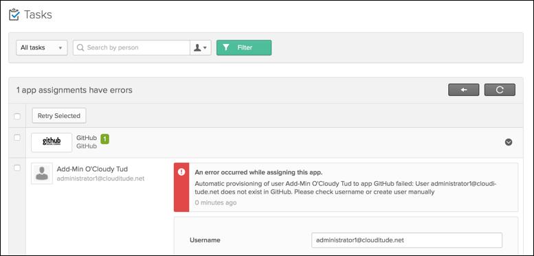 GitHub Provisioning