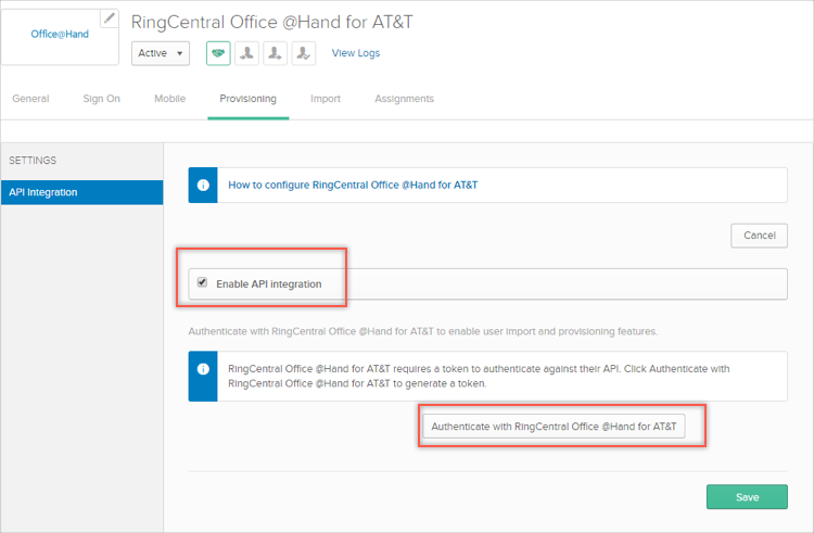 ringcentral office at hand login